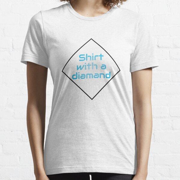 Shirt mit Diamanten Essential T-Shirt