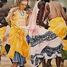 dancer girls by alstrangeways