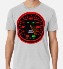 Sports Speedometer Gauge red  Men's Premium T-Shirt