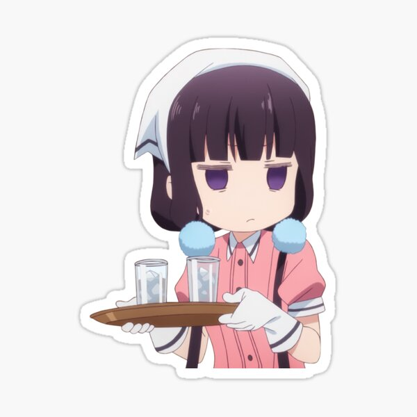 Maika Disgusted Sticker