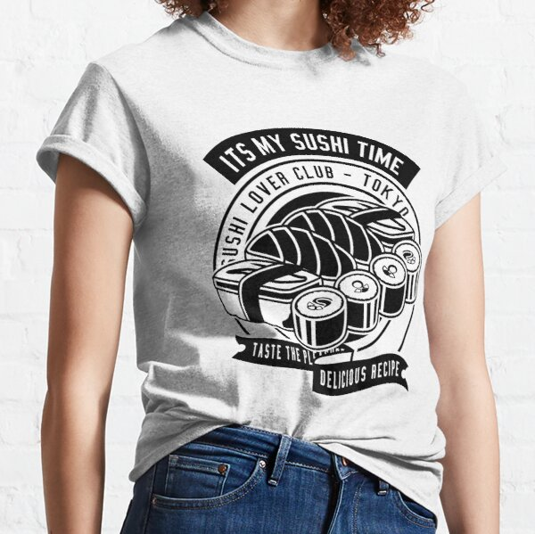 Cool Dilicious Shushi Food Classic T-Shirt