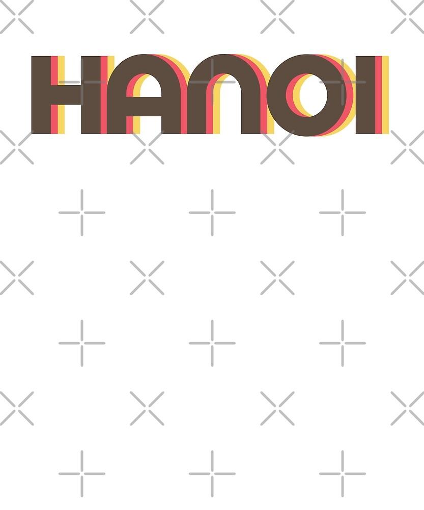 Retro Hanoi T-Shirt by designkitsch