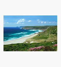 Whitesand Bay, Cornwall Photographic Print