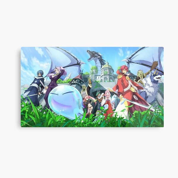 That Time I Got Reincarnated As A Slime 2 Metal Print