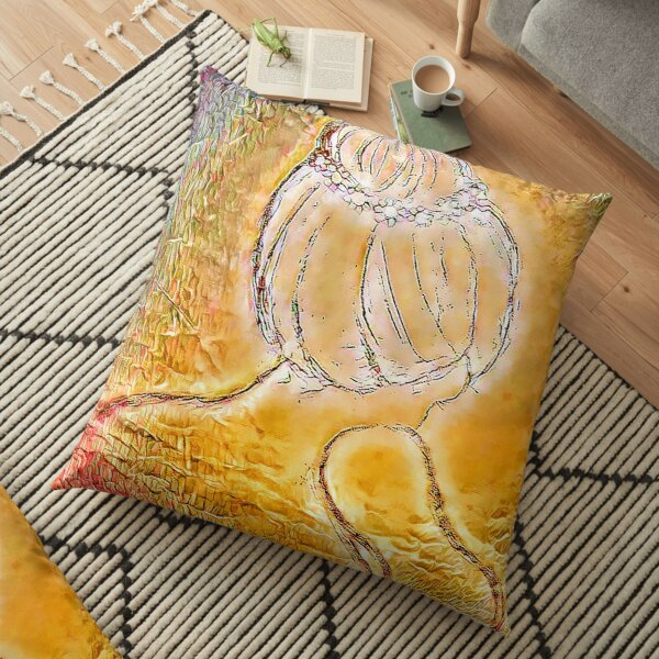 Music From the Heart Floor Pillow