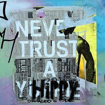 never trust a hippie by Stannard
