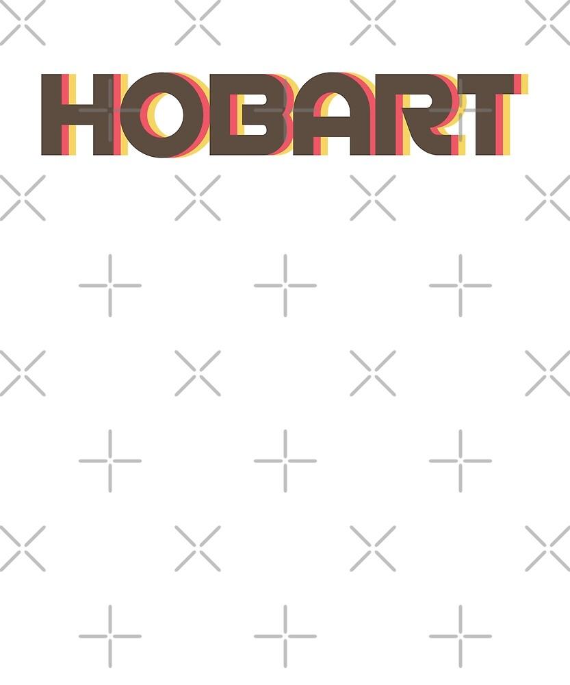 Retro Hobart T-Shirt by designkitsch