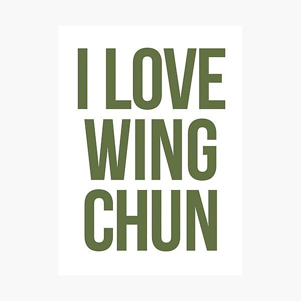 Wing Chun Love (note green) 2018 Photographic Print