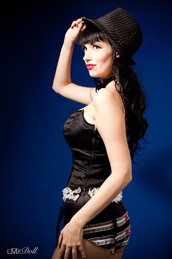 Samantha Gangster PinUp Doll 2 by Samantha Doll