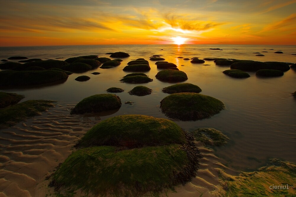 Sunset Hunstanton by cieniu1