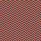 Chevron pattern red, white and black by DisorderShop