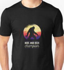 bigfoot motiv Unisex T-Shirt