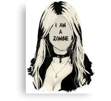 Quot I Am A Zombie Taylor Momsen Quot Stickers By