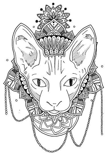 «Gato Mandala» de angeljlopez