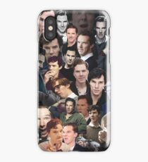 Benedict Cumberbatch Collage iPhone Case/Skin