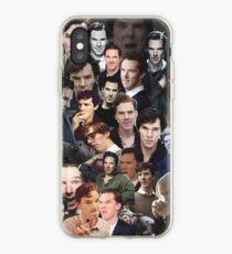 Benedict Cumberbatch Collage iPhone Case