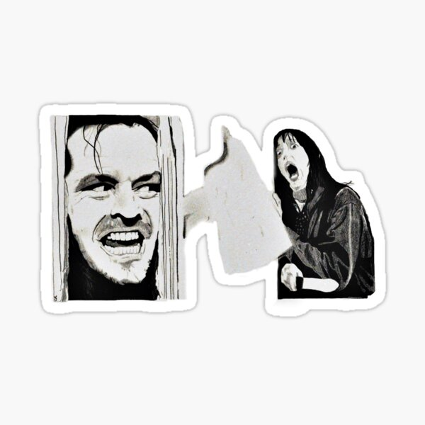 THE SHINING - Graphite pencil drawing Sticker