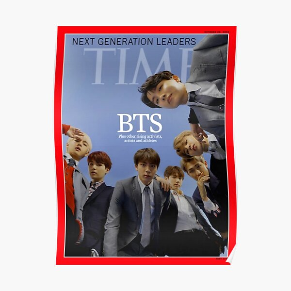 time bts Poster