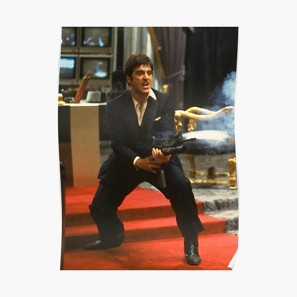 Tony Montana - Scarface Poster