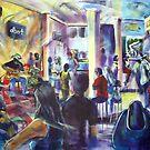 Rory Ellis Band live at the ALbert  Artscape No 1 tamworth by tola