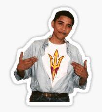 Arizona State University Obama Sticker