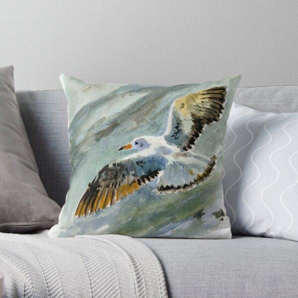 mouette, sea bird, sea gull Coussin