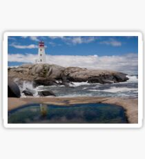 Peggy's Cove day Sticker