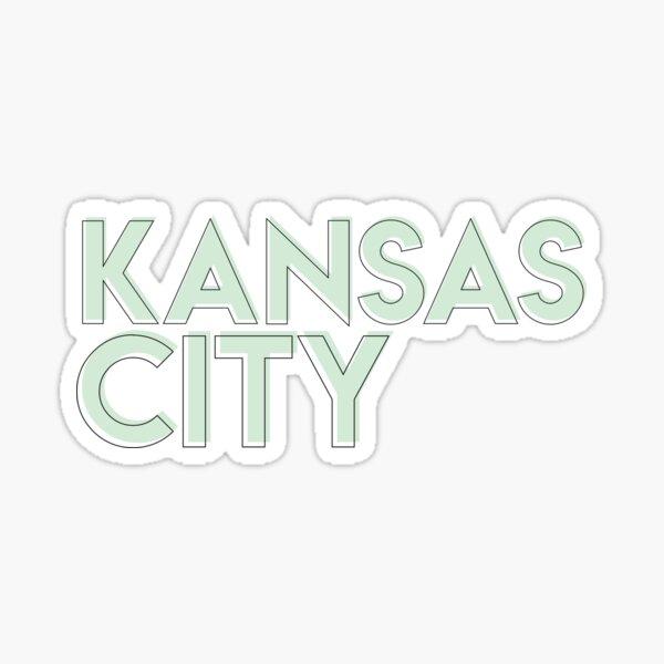 Kansas City Offset Sticker