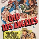 Vintage Hollywood Nostalgia Old Los Angeles Film Movie Advertisement Poster by jnniepce