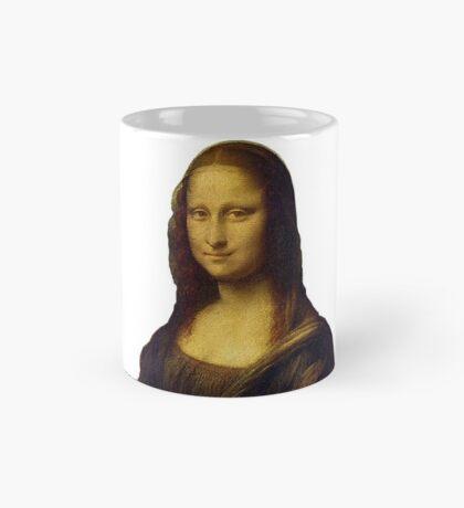 Mona Lisa Grunge Mug