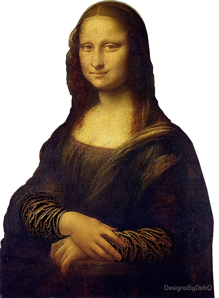 Mona Lisa Grunge by DesignsByDebQ