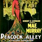 Vintage Hollywood Nostalgia Peacock Alley Film Movie Advertisement Poster by jnniepce