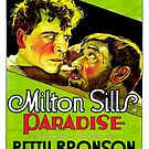 Vintage Hollywood Nostalgia Paradise Film Movie Advertisement Poster by jnniepce