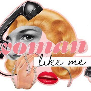 Woman Like Me Sticker  by onembrace