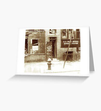 Brooklyn Post Office Greeting Card
