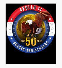 Nasa Apollo 11 50Th Anniversary Patriotic Photographic Print