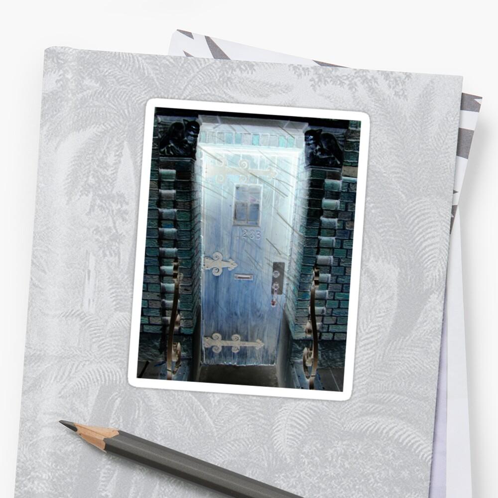 Gargoyle Doorway by Beth Bernett