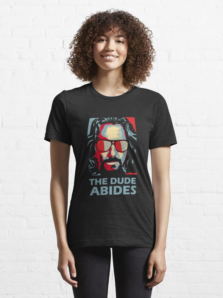 Alternate view of The Dude Abides Man Essential T-Shirt