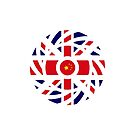 British Chinese Multinational Patriot Flag Series by Carbon-Fibre Media