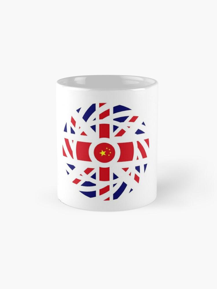 Alternate view of British Chinese Multinational Patriot Flag Series Mug