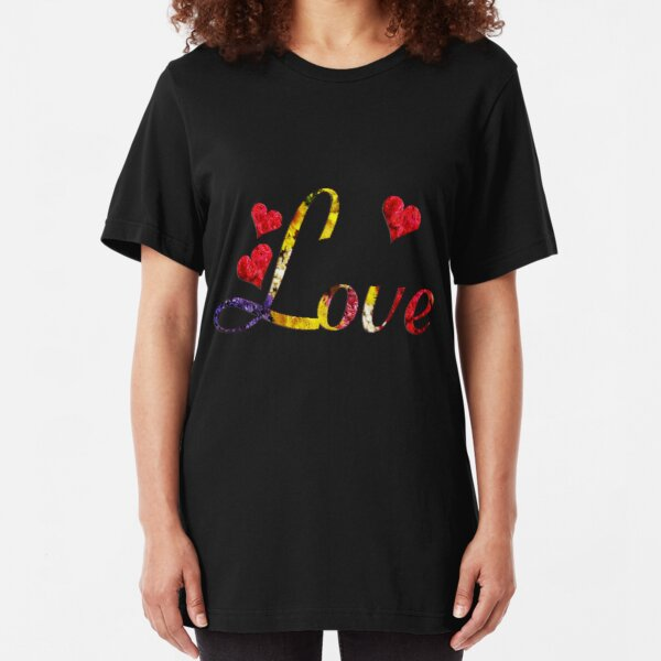 Love Slim Fit T-Shirt