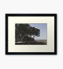 Arezzo, Tuscany, Italy Framed Print