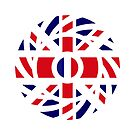British French Multinational Patriot Flag Series by Carbon-Fibre Media