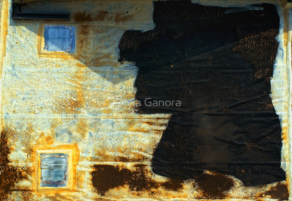 Abstract garage roof by Silvia Ganora