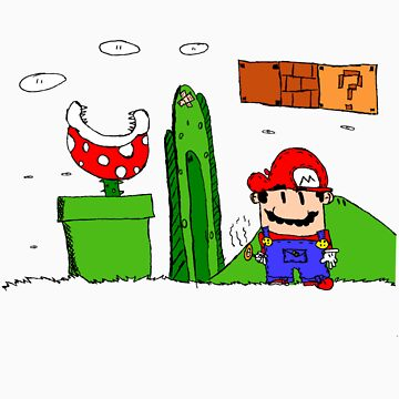 It'sa ME! MARIO! by cmdrk