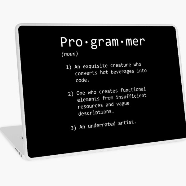 Programmer Laptop Skin