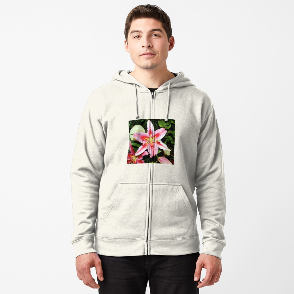 Lily | Bolton Castle, Yorkshire Dales Zipped Hoodie