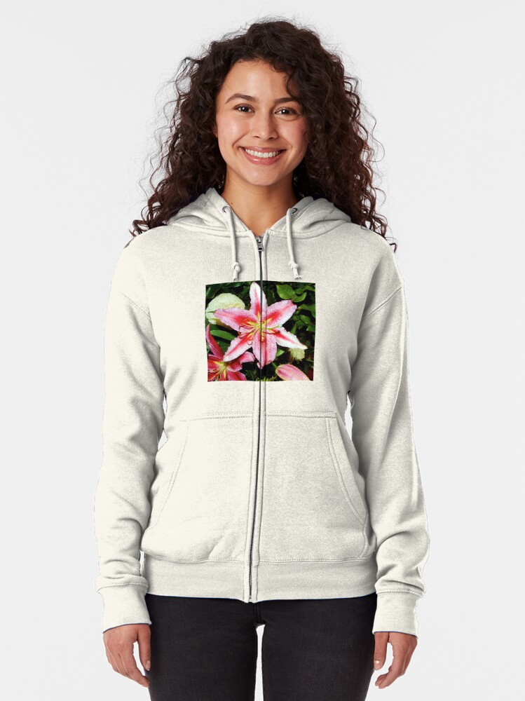 Alternate view of Lily | Bolton Castle, Yorkshire Dales Zipped Hoodie