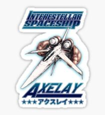 Axelay Sticker