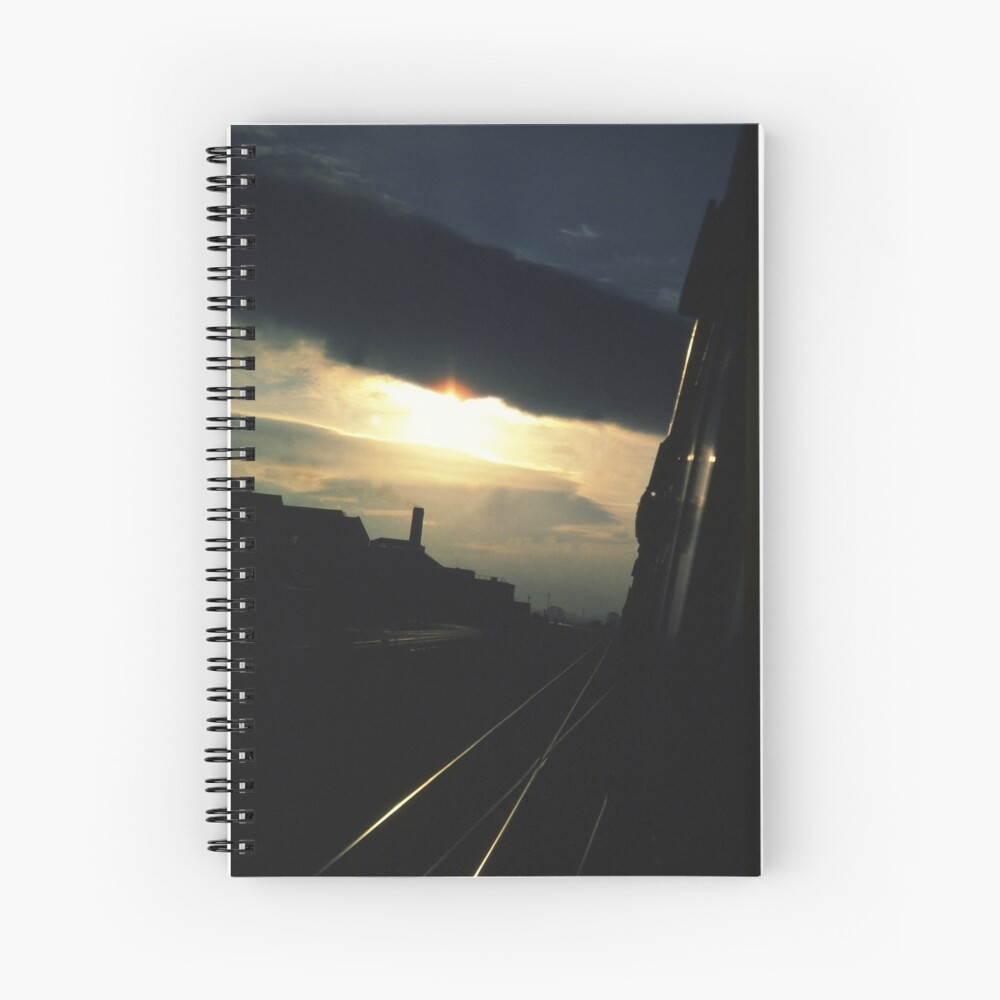 I'll take the high road... Spiral Notebook